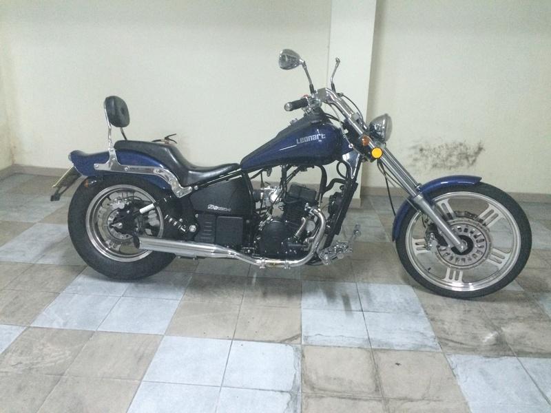 Personalização de Leonart Spyder 125cc  Img_4310