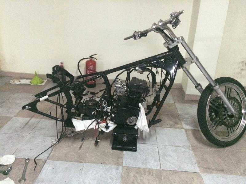 Personalização de Leonart Spyder 125cc  Img_4510