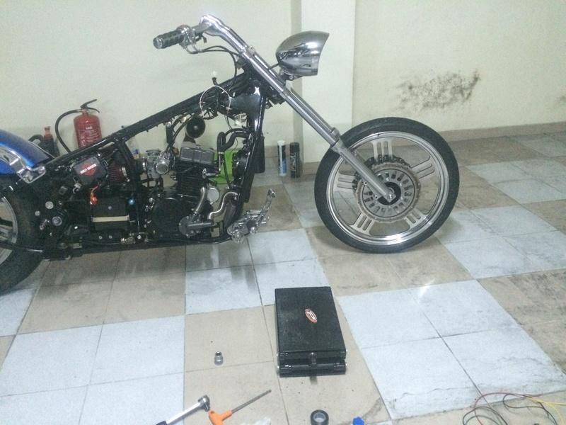 Personalização de Leonart Spyder 125cc  Img_4910