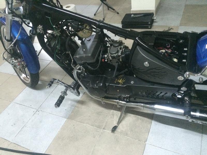 Personalização de Leonart Spyder 125cc  Img_5011