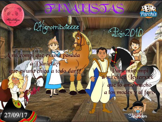 PARCHIS PAREJAS 27/09/17..FINALISTAS!!0KIEROMIBOTEEEE-PIOJO2010 Scree101