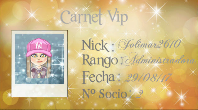 CARNET VIP.. JOLIMAR2610 Screen27