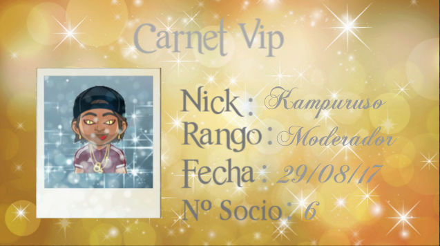 carnet vip..kampuruso Screen30