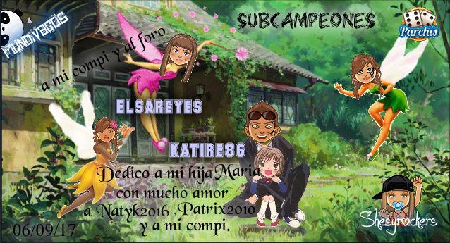 PARCHIS PAREJA 06/09/17..SUBCAMPEONES!! KATIRE86-ELSAREYES Screen58