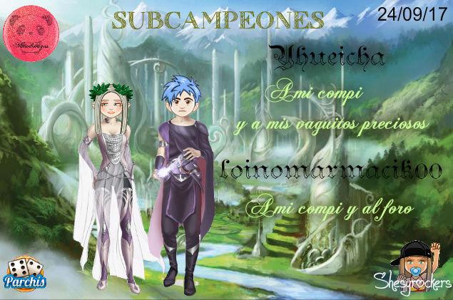 PARCHIS PAREJAS 24/09/17..SUBCAMPEONES!! YHUEICHA-LOINOMARMACIK00 Screen91