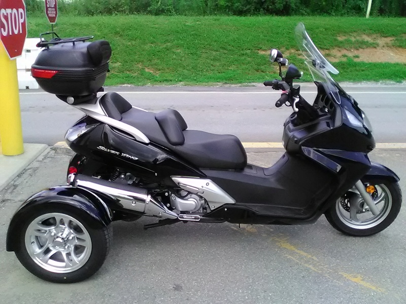 Pastor Ron's Honda Silverwing Trike (GT3 Kit) Pics Img_2011