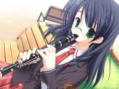 فتيات إنمي تعزف 08090212