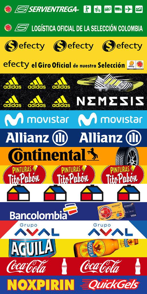 Adboards de Equipos Nacionales CONMEBOL (Rusia 2018) Colomb10