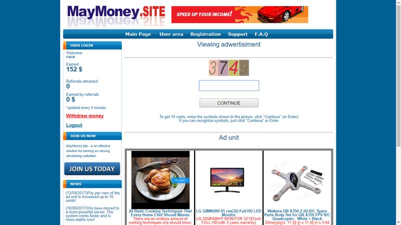 [Aldrabice/Scam] MayMony.Site - Paga por Paypal! Screen11