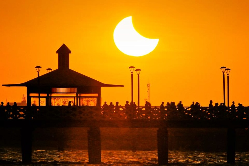 Eclipse Solar Parcial - Fortaleza - 21/08/17 20953210