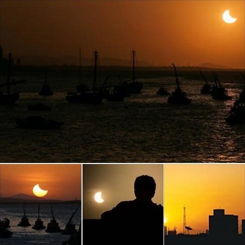 Eclipse Solar Parcial - Fortaleza - 21/08/17 Eclp310
