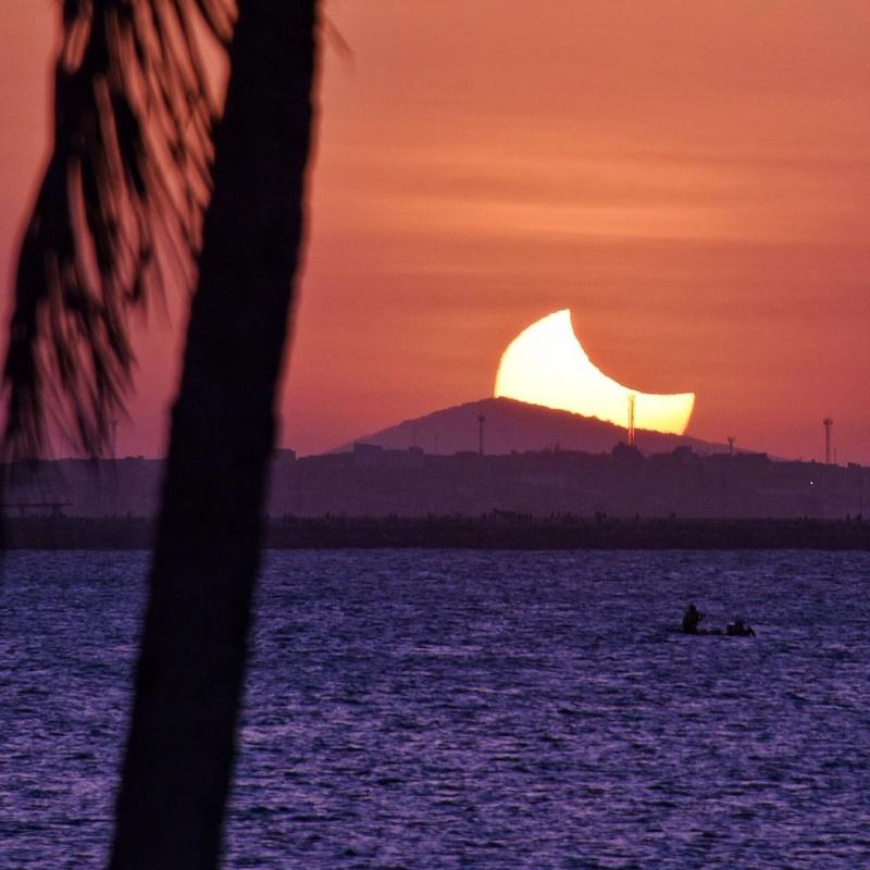 Eclipse Solar Parcial - Fortaleza - 21/08/17 Whatsa13