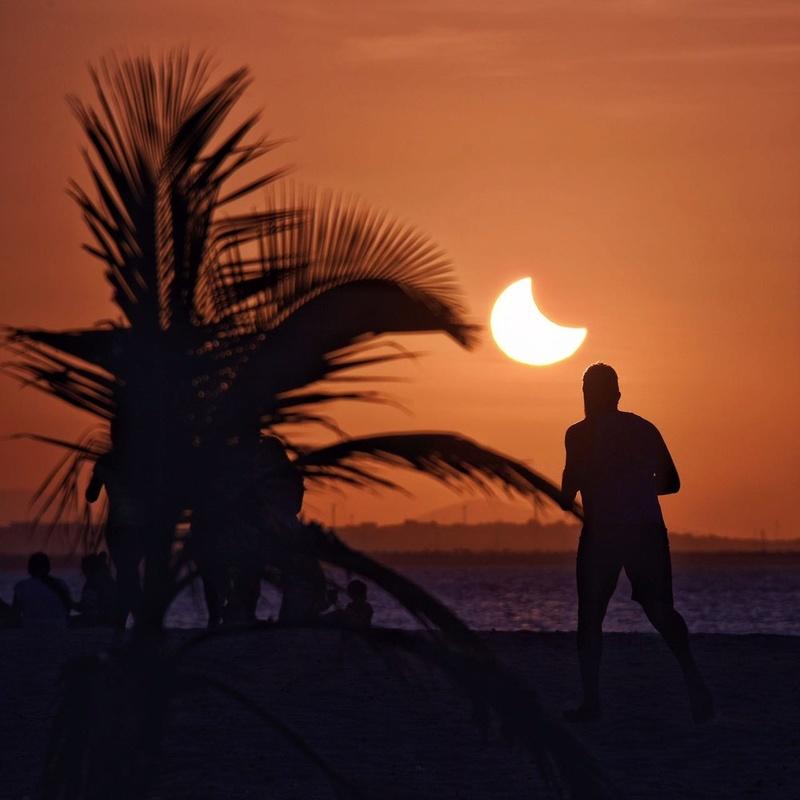 Eclipse Solar Parcial - Fortaleza - 21/08/17 Whatsa14