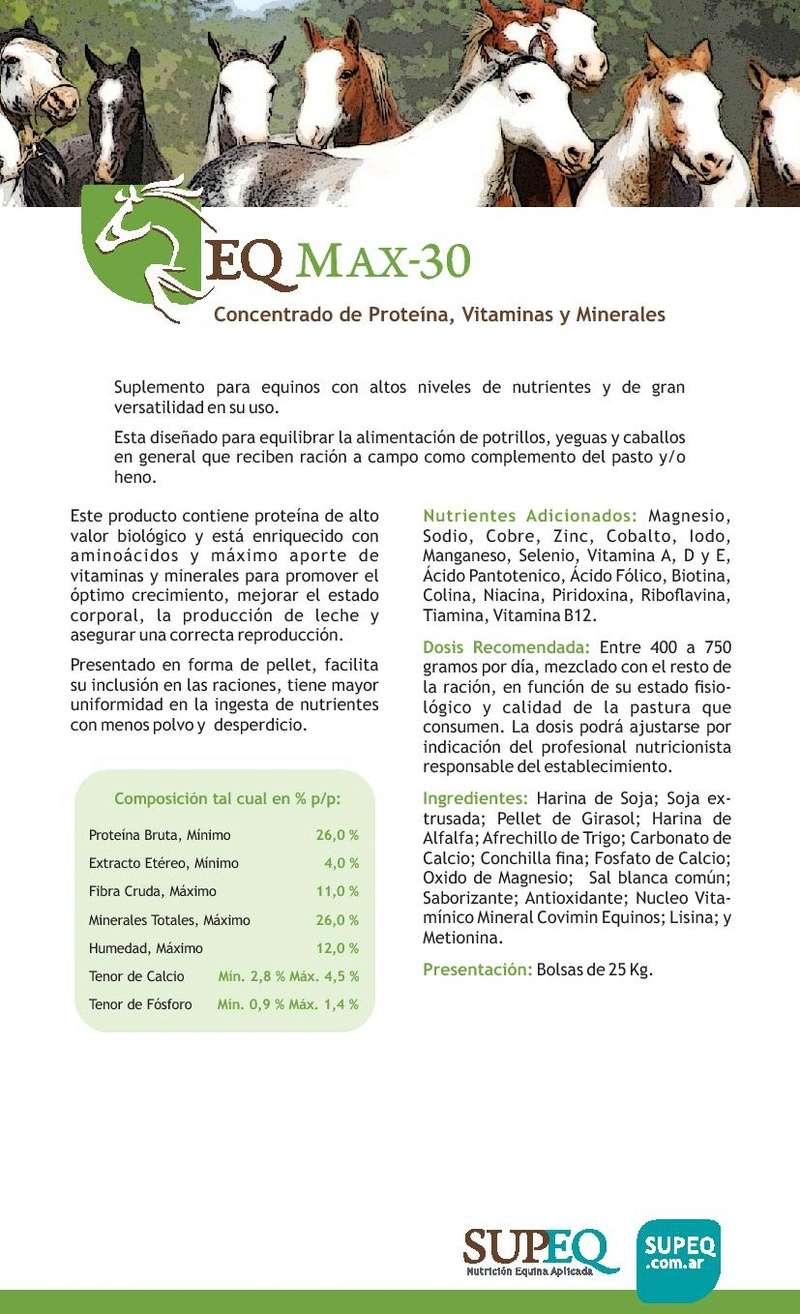 "Alimento Balanceado ""FORTALEZA"" Eq_max10"