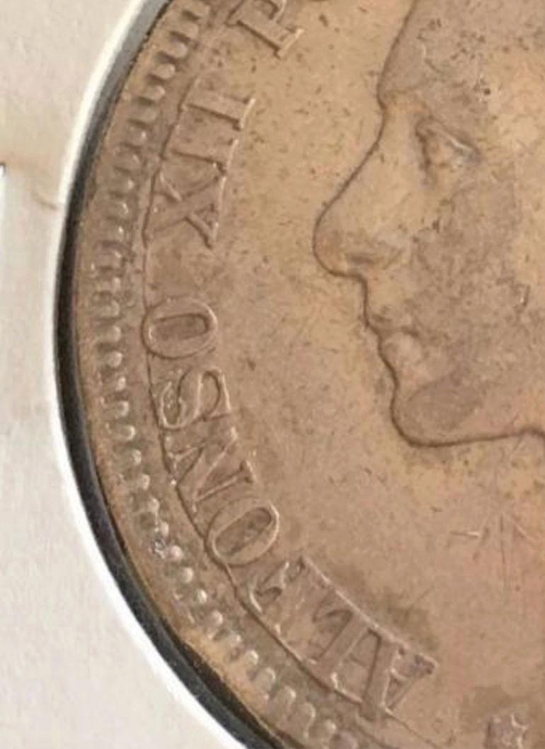 5 pesetas 1879. Alfonso XII. Opinión. Alf10