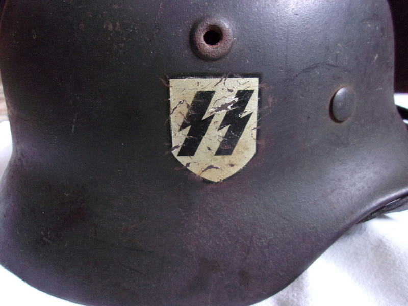 Authentification Casque Waffen SS M40 103_0414