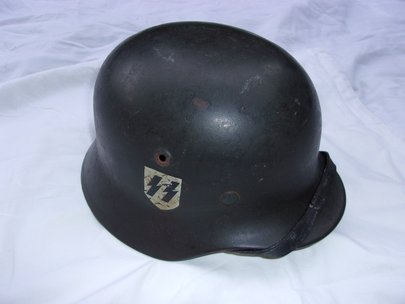 Authentification Casque Waffen SS M40 103_0416