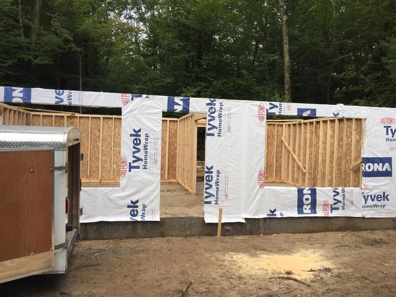 Construction cabane à sucre 1110