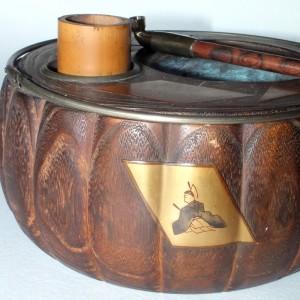 Kiseru, la pipa que vino de Japón Ancien12