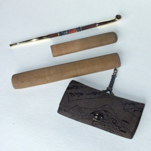 Kiseru, la pipa que vino de Japón Ancien13