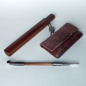 Kiseru, la pipa que vino de Japón Ancien14