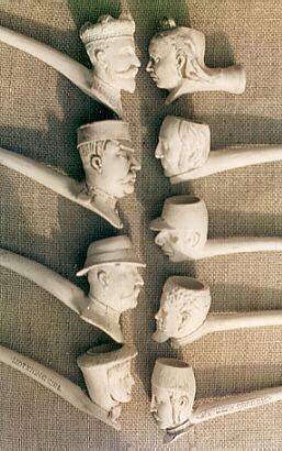 Las pipas de arcilla o pipas Clay Pipe910