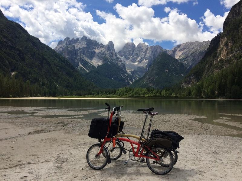 Les Dolomites et le Danube autrichien en Brompton Img_0310