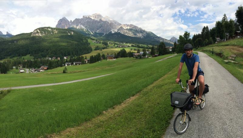 Les Dolomites et le Danube autrichien en Brompton Img_0410