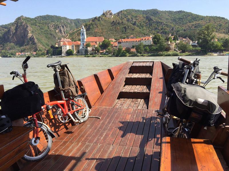 Les Dolomites et le Danube autrichien en Brompton Img_0911