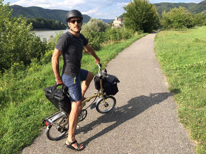 Les Dolomites et le Danube autrichien en Brompton Img_0912