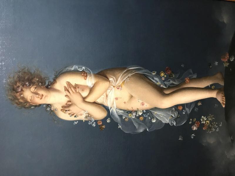 Exposition : Le pouvoir des fleurs, Pierre-Joseph Redouté. Musée de la vie romantique (Paris) Img_8412