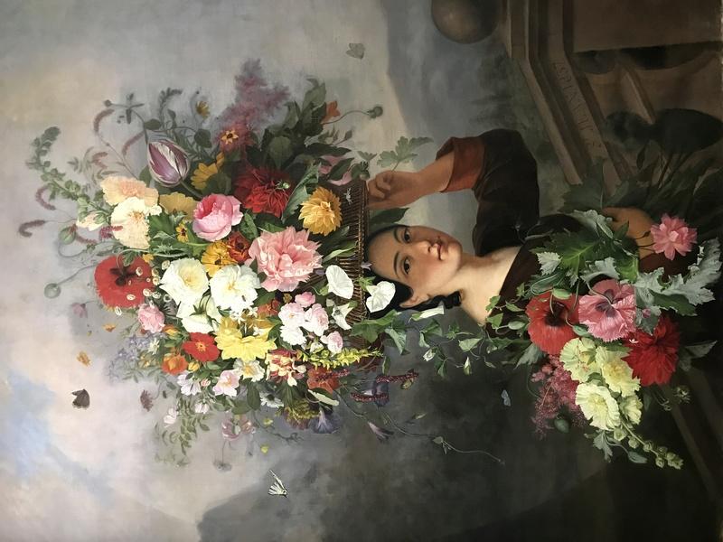 Exposition : Le pouvoir des fleurs, Pierre-Joseph Redouté. Musée de la vie romantique (Paris) Img_8415