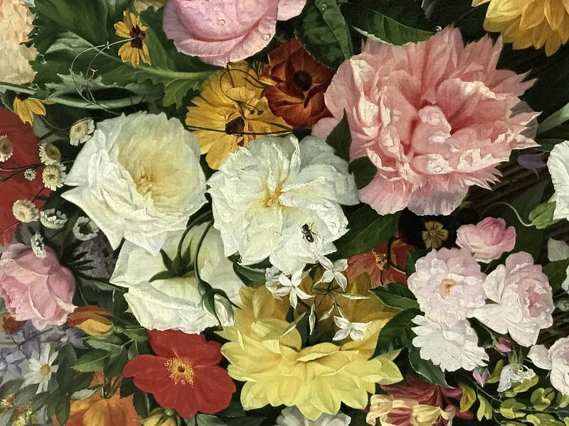 Exposition : Le pouvoir des fleurs, Pierre-Joseph Redouté. Musée de la vie romantique (Paris) Img_8416