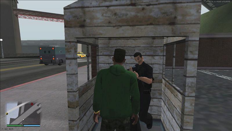 Alguém pode me explicar sobre a deformação facial do policial Geremildo? Geremi11