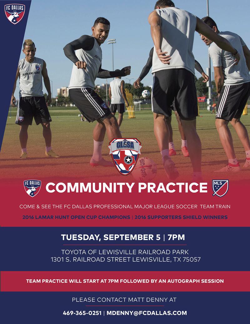 FC Dallas 1st Team Practice in Lewisville 08-22-10