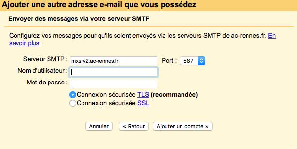 Gmail & Adresse académique Captur10