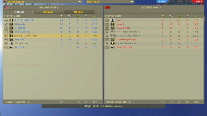 bilal97 - Team Kiling - =TFC= The Friendly Clan Screen20
