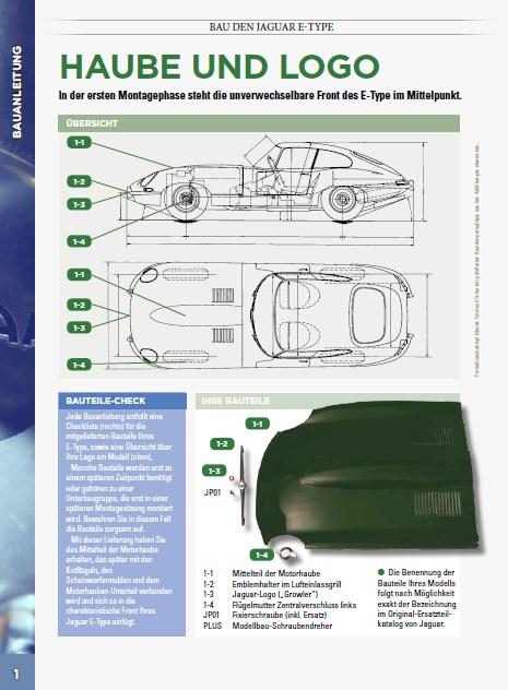 Der Jaguar E-Type von DeAgostini in 1:8 Seite_10