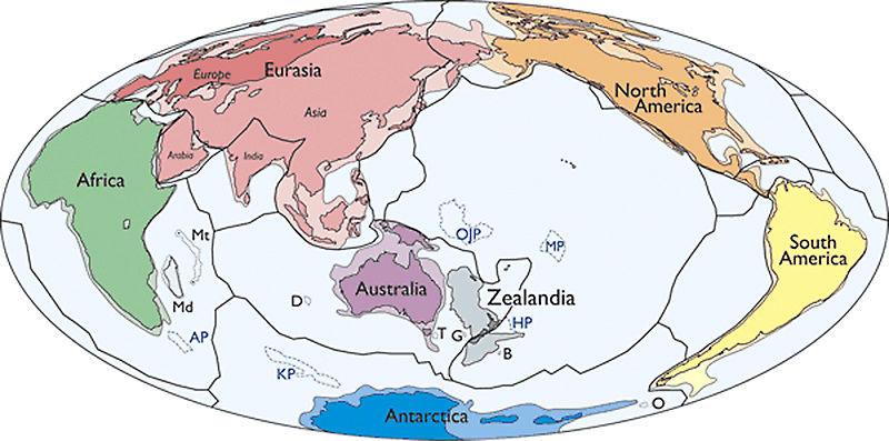 """O recém-descoberto """"sétimo continente"""" revela os seus mistérios Zap29013"""