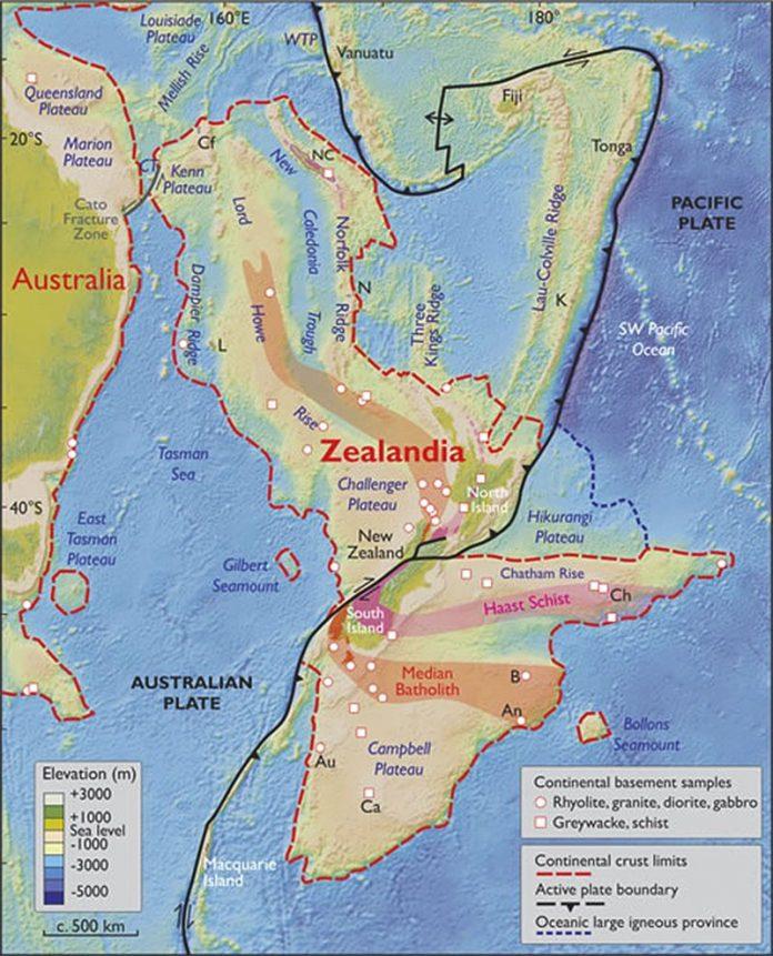 """O recém-descoberto """"sétimo continente"""" revela os seus mistérios Zap29014"""