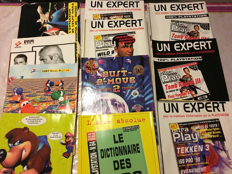 [ESTIM]  Lot Magazines Nintendo 64 et autres.. Img_0911