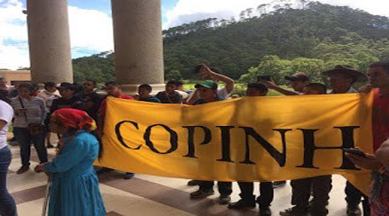 Por sembrar milpa , condenan a tres años de carcel a campesinos del COPINH Copinh10