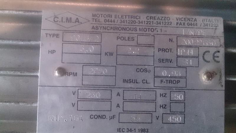 Problème moteur compresseur qui s'arrête rapidement après mise en route Dsc_0113