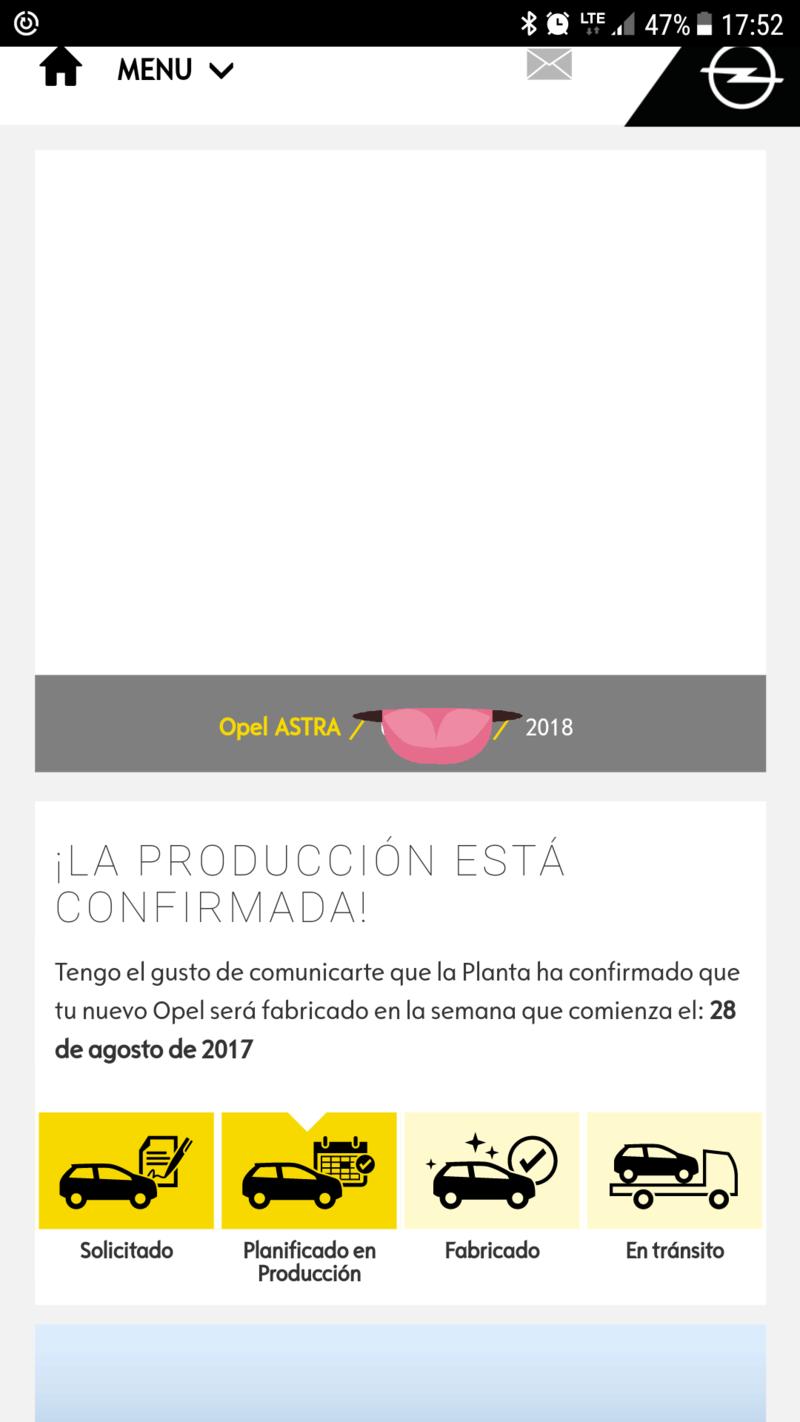 Ya está disponible la versión MY18 del Astra K (Coches fabricados a partir de Octubre) 20170910