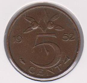 Moneda de Holanda Dinama10