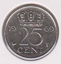 Moneda de Holanda Dinama12