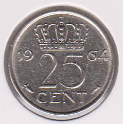 Moneda de Holanda Dinama13