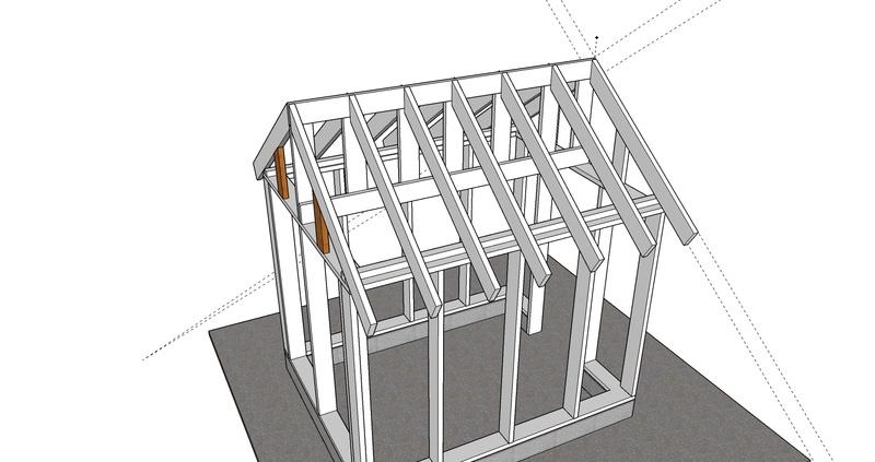 Abris de jardin - poulailler: Questions, conception et mise en oeuvre  0210