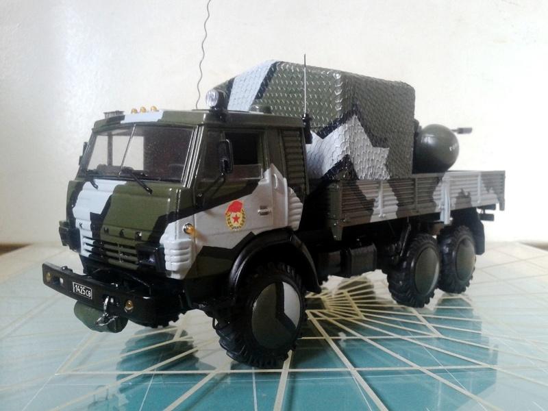 "КамАЗ-4310-010 ""Дозор"" (парадный вариант) (ГОТОВО) 1_510"