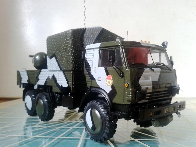 "КамАЗ-4310-010 ""Дозор"" (парадный вариант) (ГОТОВО) 1_910"